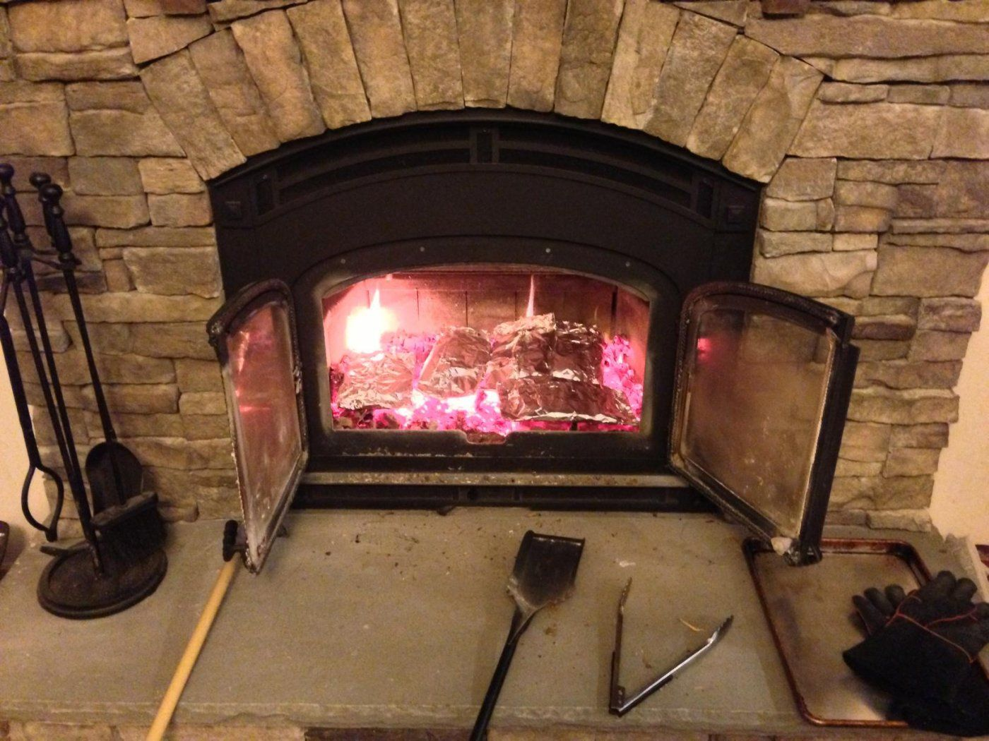 Tin Foil Dinners In The Fireplace Hearth Com Forums Home