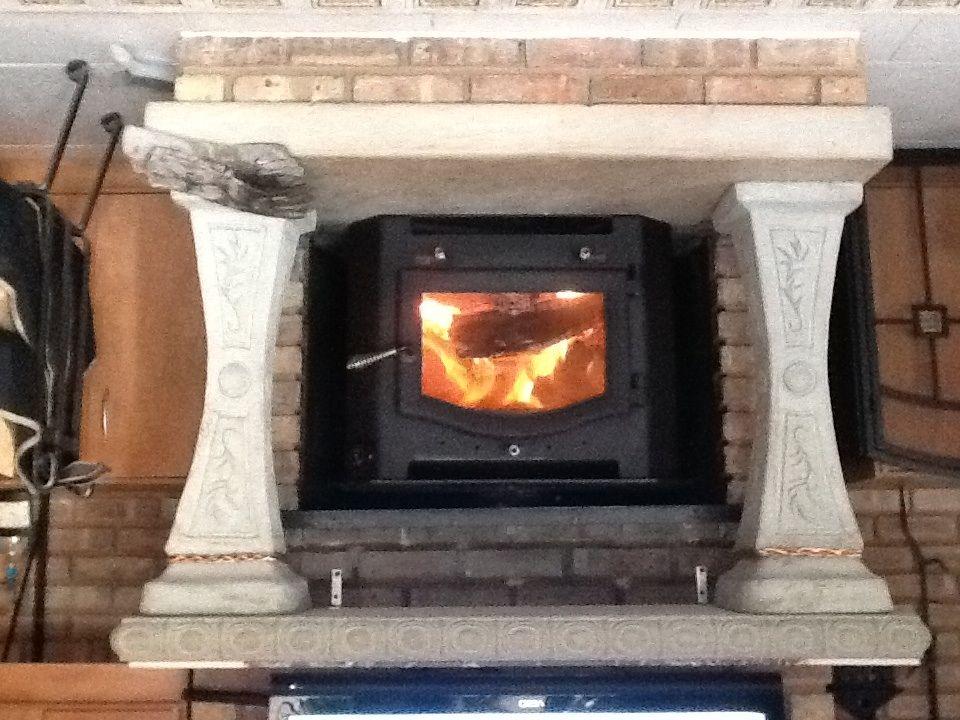 kuma sequoia woodburning fireplace insert let the love affair rh hearth com free standing wood stove inside fireplace install wood burning stove inside fireplace