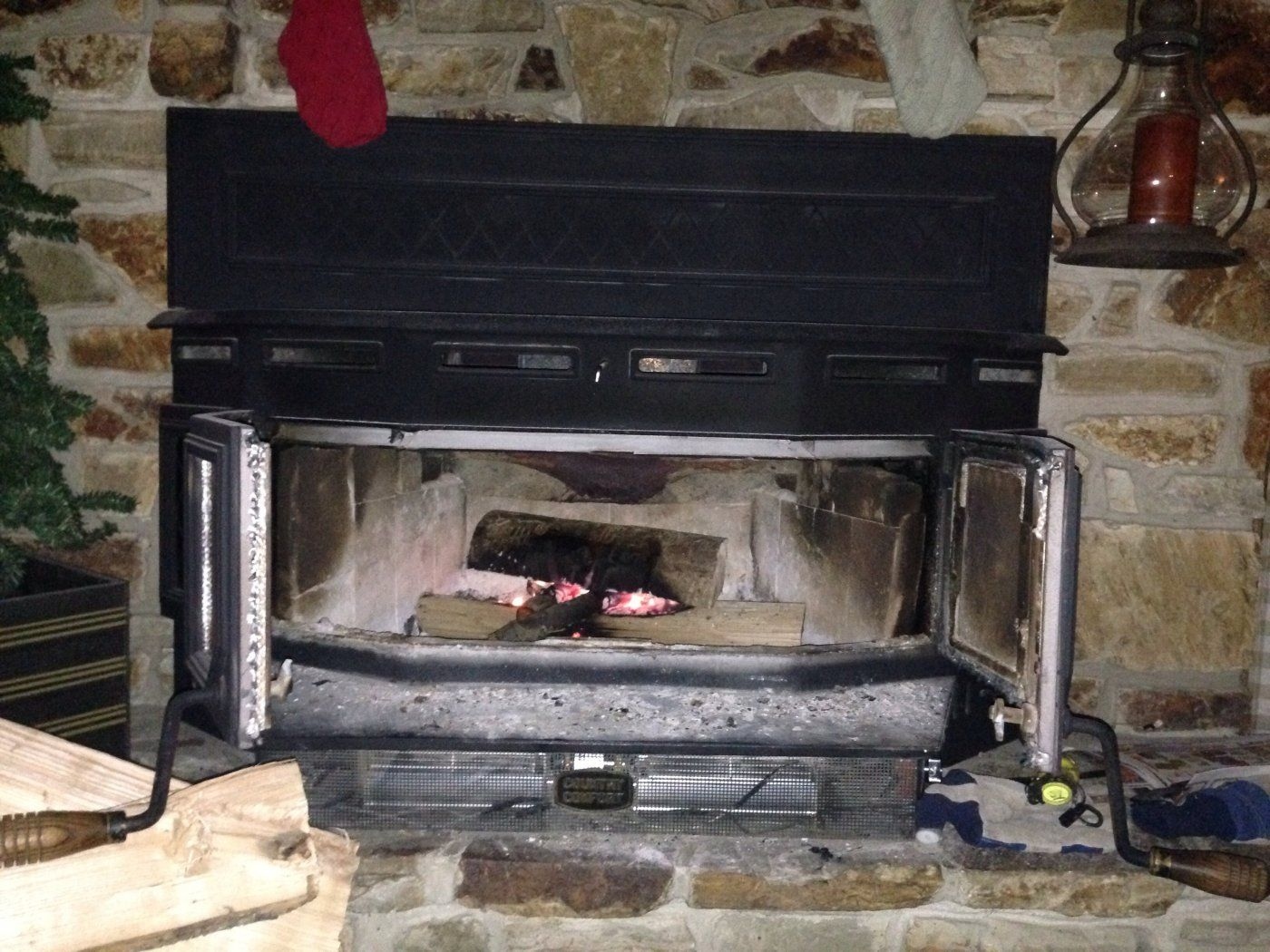Country Comfort Wood Stove Fireplace Insert Fireplaces