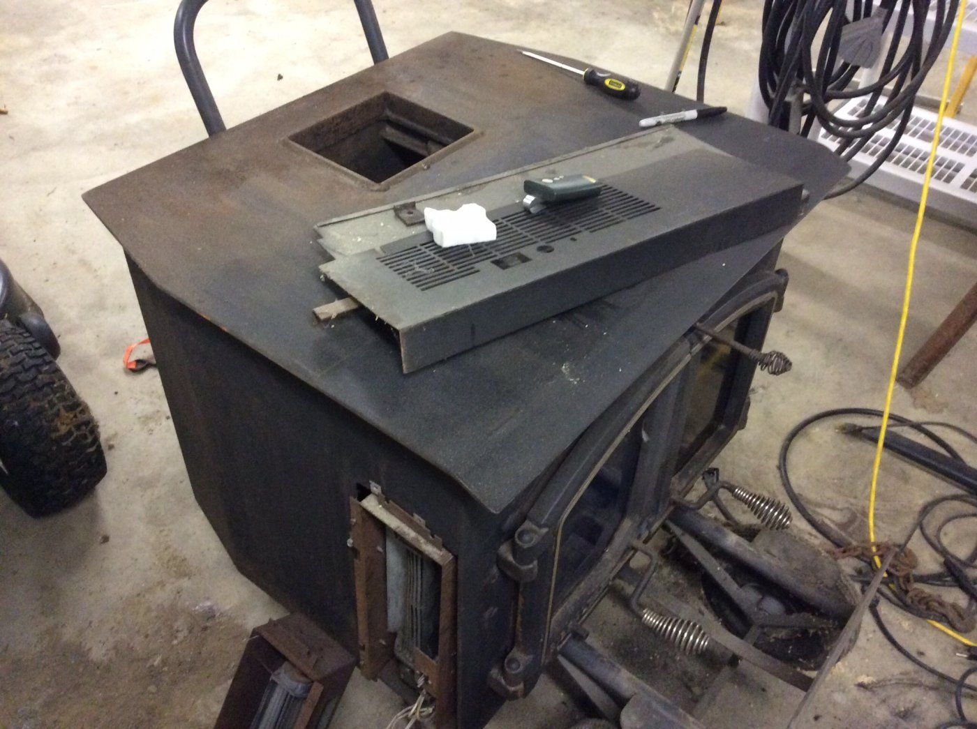 anyone ever heard of a gibraltar wood stove insert hearth com