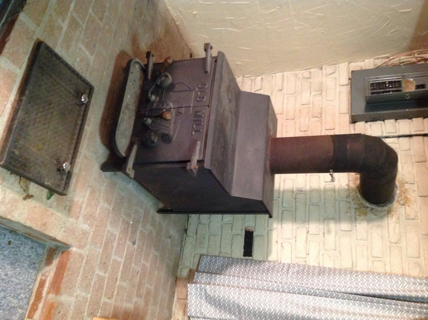 image.jpg ... - Can You Identify My Stove (Old Mill)? Hearth.com Forums Home