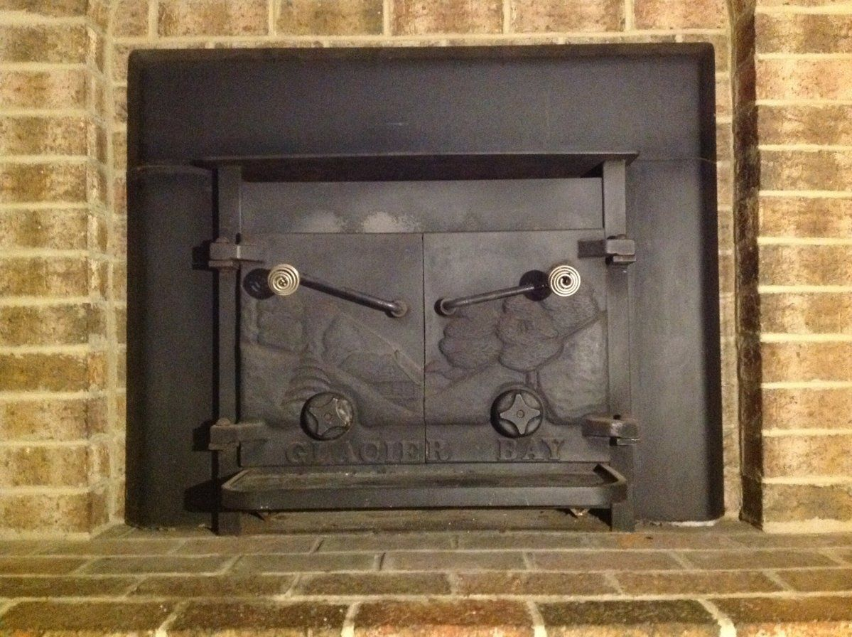 I recently purchased a home that has a cast iron Glacier Bay wood burning fireplace insert and it does not have any identification marks.  From the...