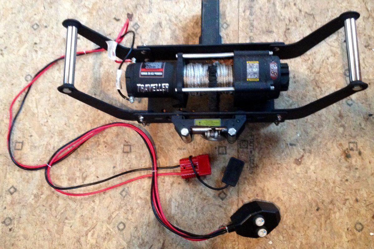 winch to pull logs size hearth com forums home rh hearth com 4 Wheeler Winch  Wiring Diagram Warn Winch Wiring Kit