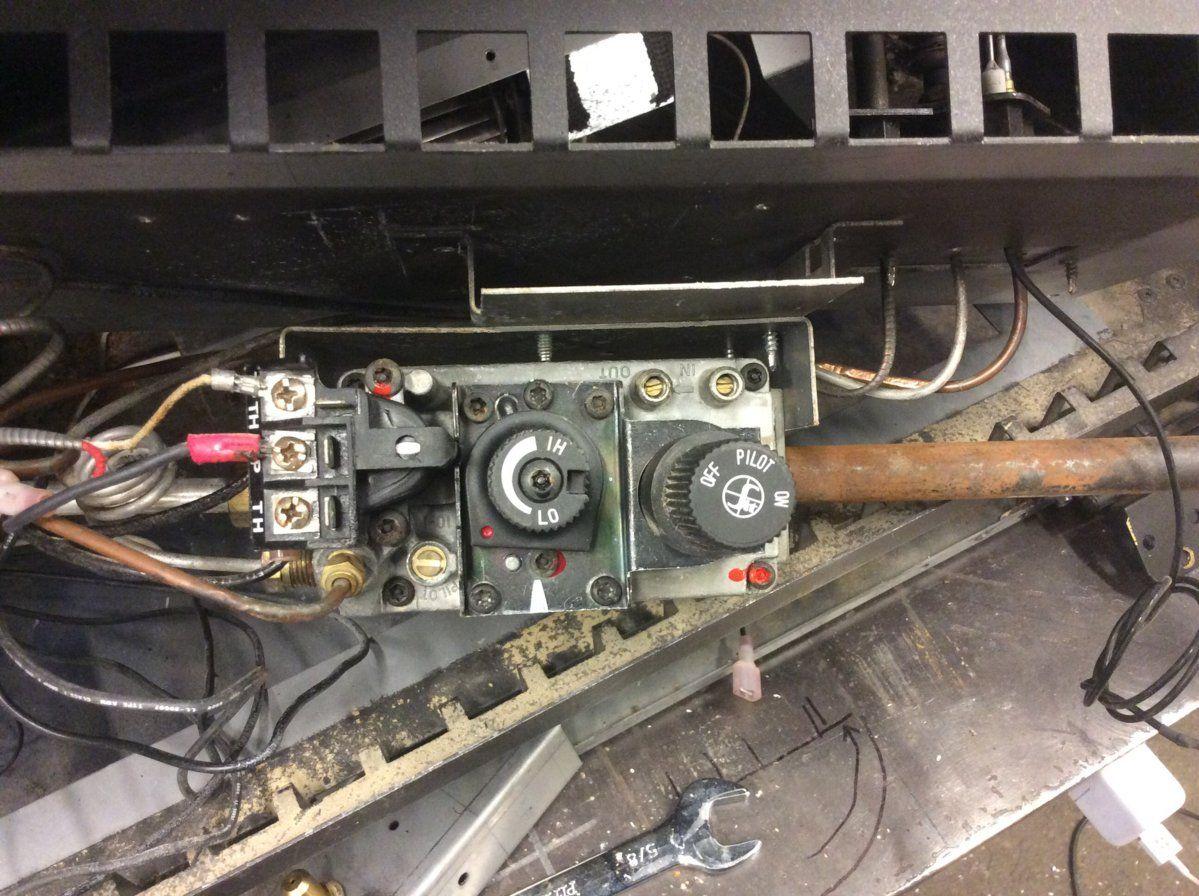 Robertshaw Fireplace Gas Valvegas Millivolt Wiring Youtube Valve Sit 820 Nova Diagrams Diagram