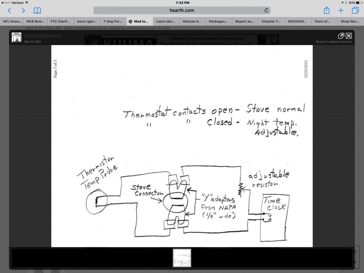 Thermostat to Harman p43 – Rth6300b Wiring Diagram