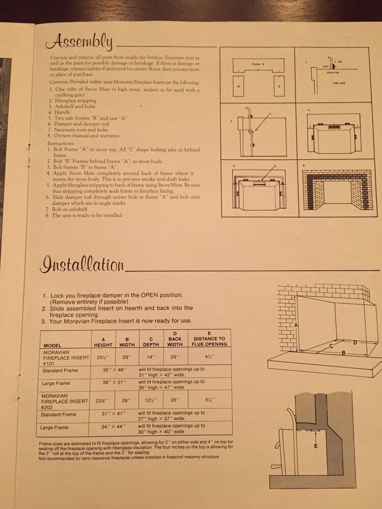 quaker stove full manual in photos hearth com forums home