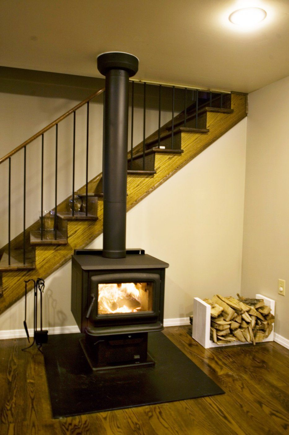 finally the stove is in hearth com forums home