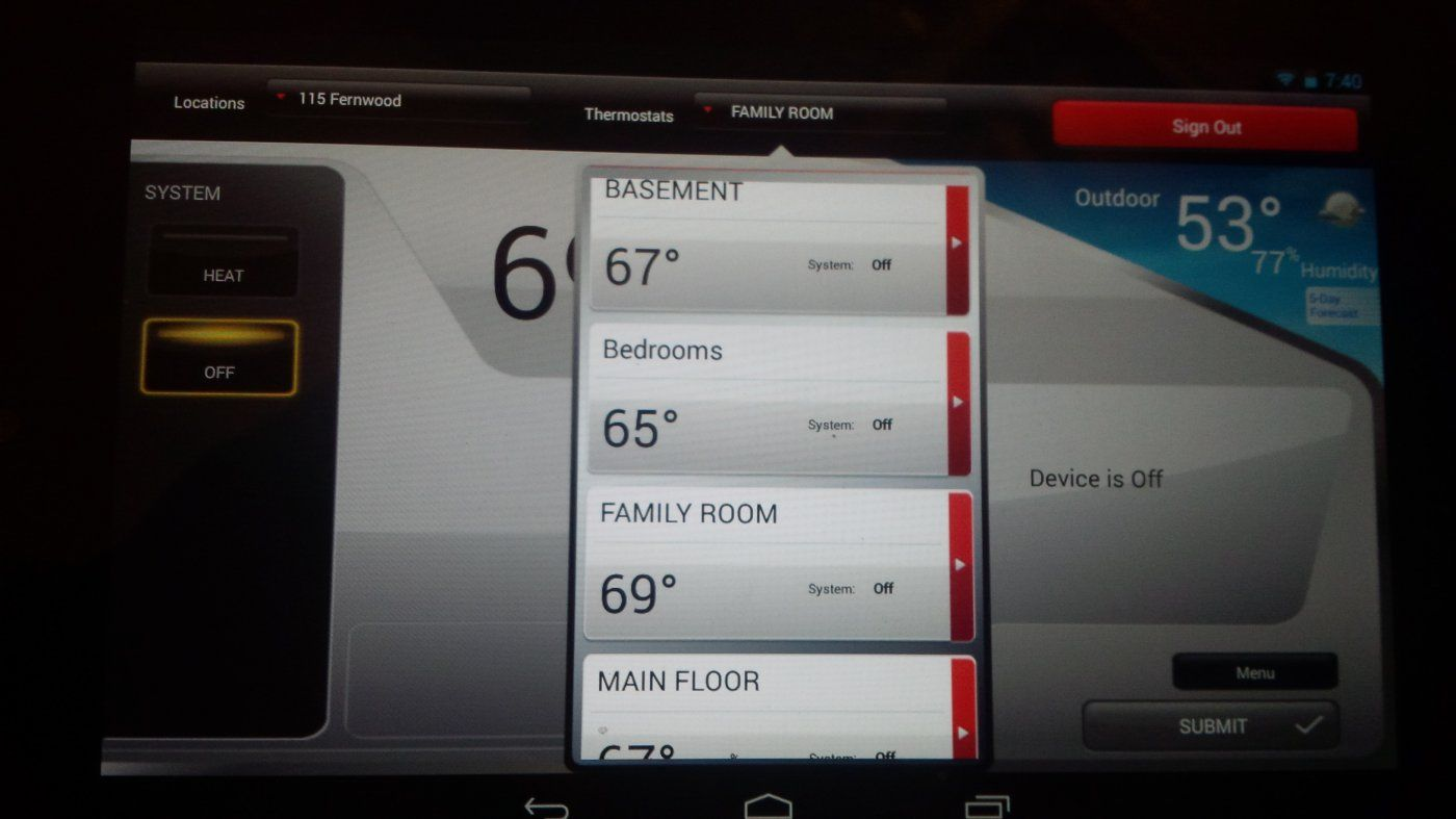 Honeywell WIFI (Redlink) Thermostat - Harman Accentra | Hearth.com ...