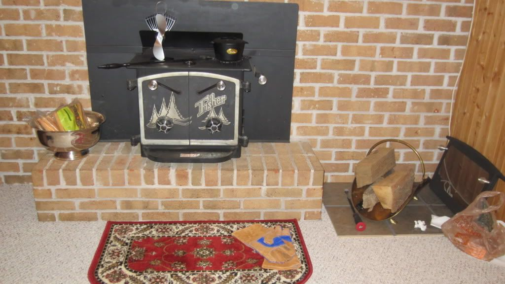 Smoke From Top Of Bob Fisher Insert Hearth Com Forums Home