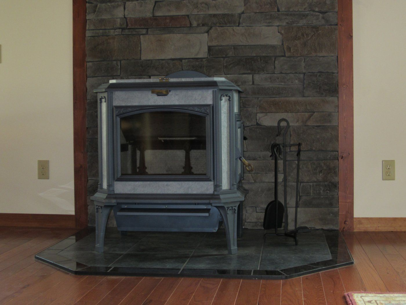 Wood Stove Floor Protector Home Design Ideas and