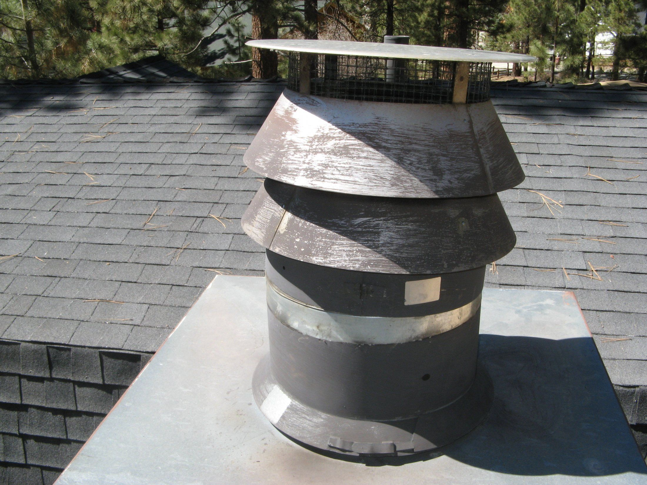 factory insulated chimney pipe on zc fireplace hearth com forums