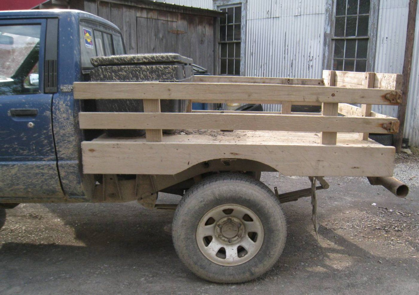 Wooden Flatbedanybody Built One Hearthcom Forums Home