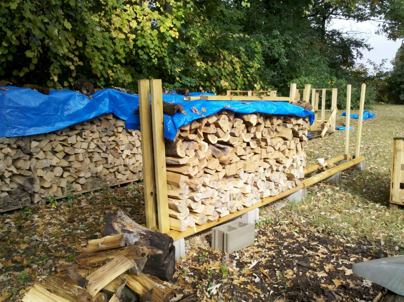 My Zero Tool Built Firewood Rack Hearth Com Forums Home
