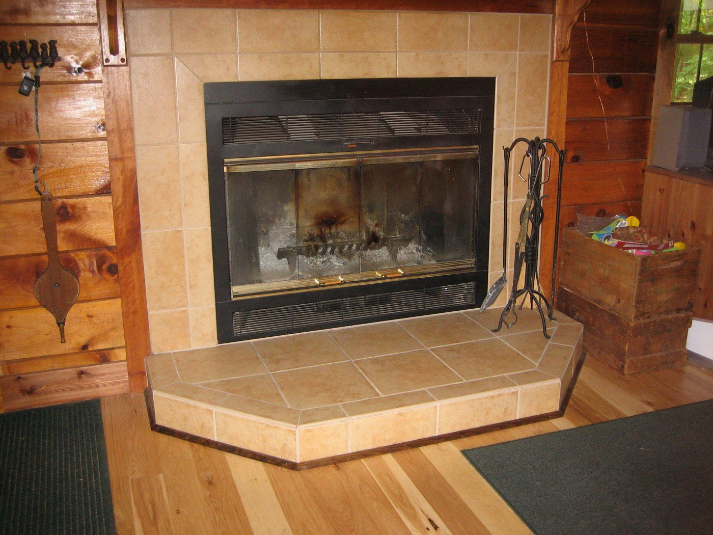 Pictures of wood stoves in alcoves | Hearth.com Forums Home