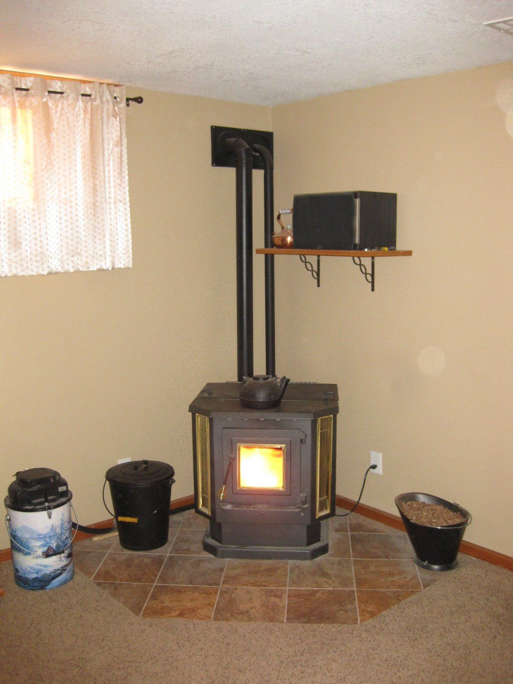 Supplemental Heat From A Pellet Stove Hearth Com Forums Home