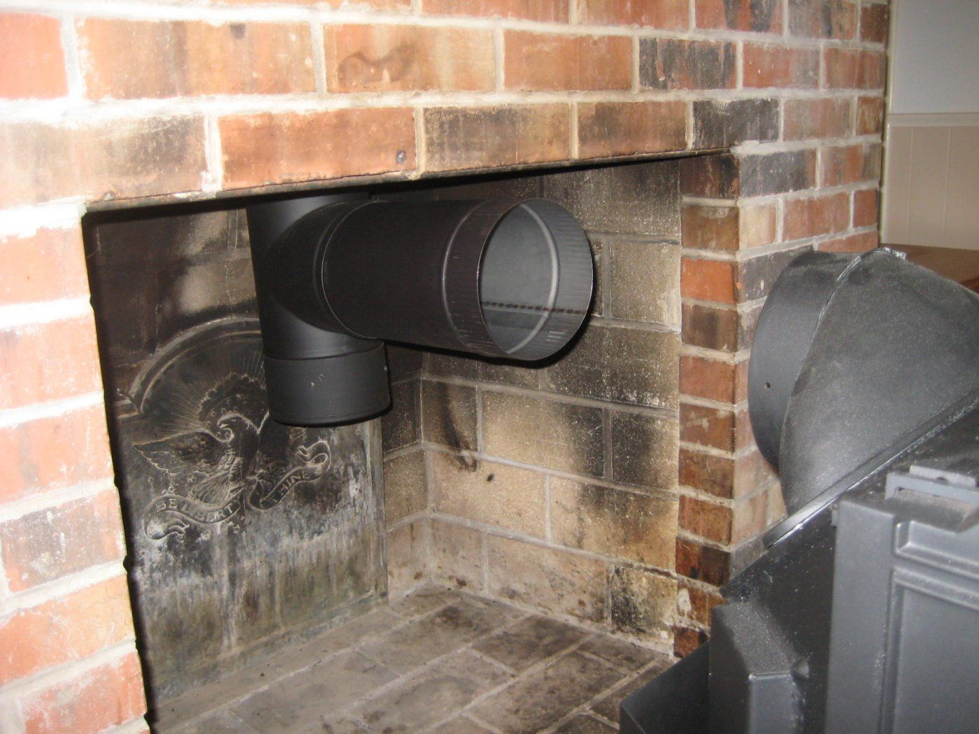 IMG_3248.jpg - Rear Vent Wood Stove Through Masonry Fireplace Hearth.com Forums