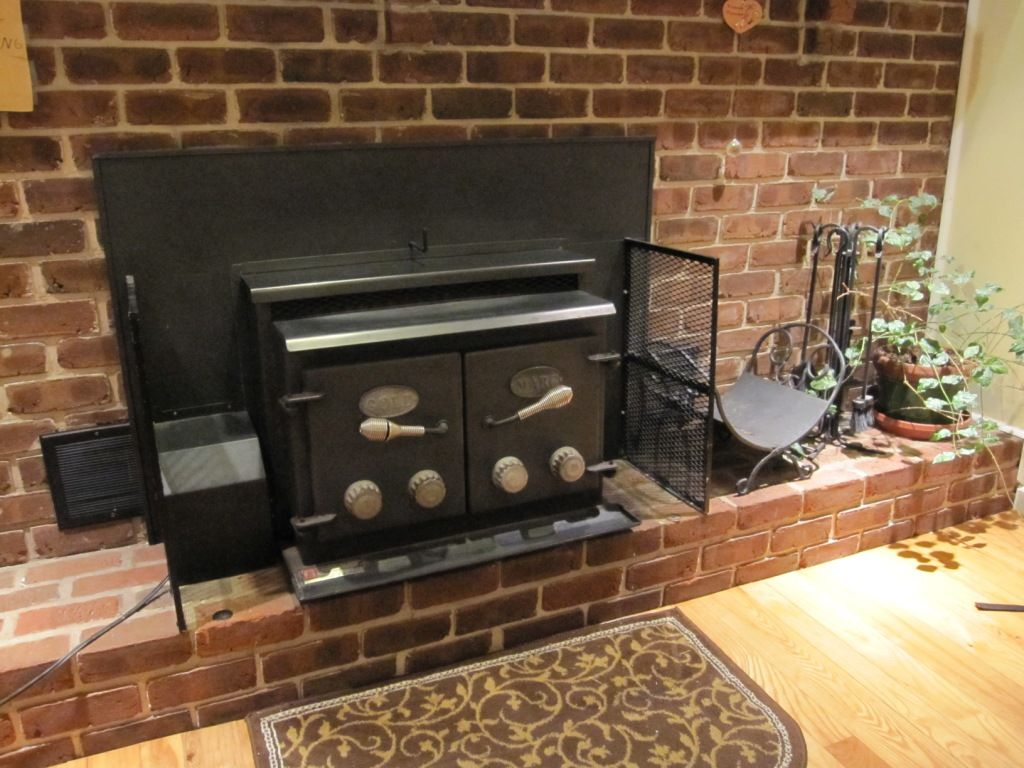 Clic 1980 Gold Marc Fireplace Insert Hearth Forums Home