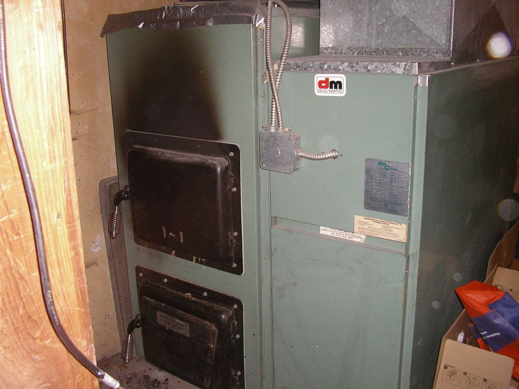 Combination Wood Oil Furnace Pictures