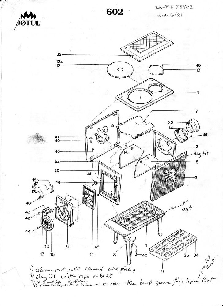 Jotul 602 Parts Jpg 29655