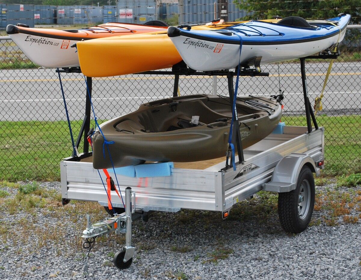 Kayak Roof Rack For Two Pimping my Trailer - pics - need ideas | Hearth.com Forums ...