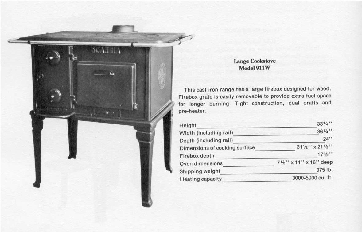 Lange 911W Wood Cook Stove   Hearth.com Forums Home
