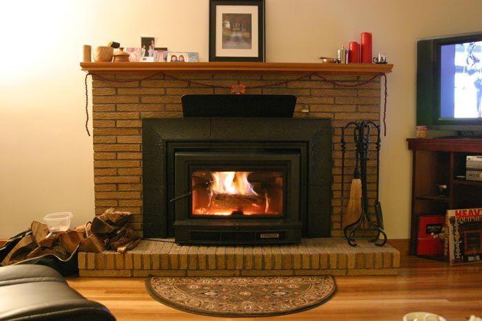Flush insert or sticking out?   Hearth.com Forums Home