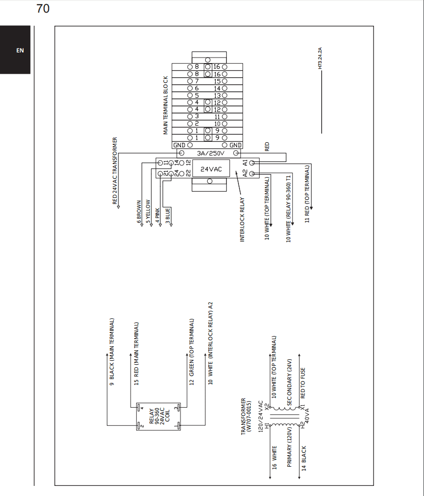 Napoleon Hmf200 Major Design Flaw Want Feedback Terminal Blocks Electrical Wiring Diagram Control Edit So The Room Thermostat And Damper Motor Are In Series Attach To Wires 10 11 On Top