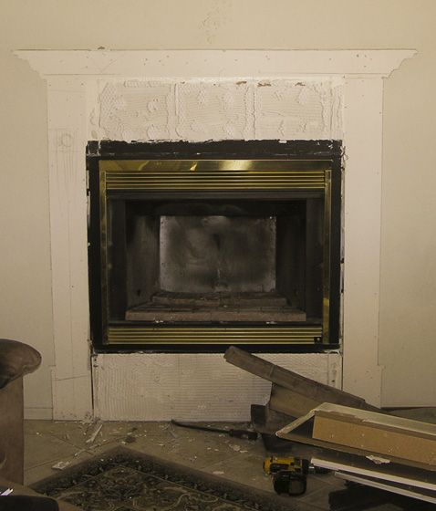 old fire box.jpg - Zero Clearance To Insert Conversion Hearth.com Forums Home