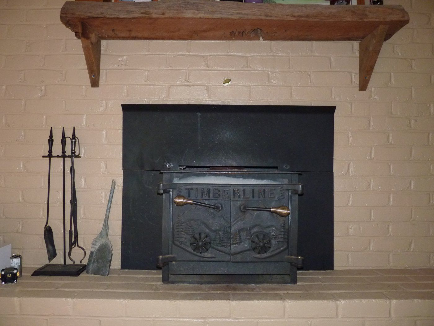 Old Stove.JPG - New Wood Stove Insert (cannot Heat Basement Past 70) Enerzone