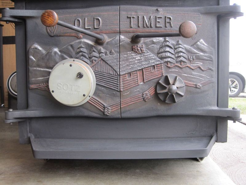 - Image Gallery Old Timer Wood Stove