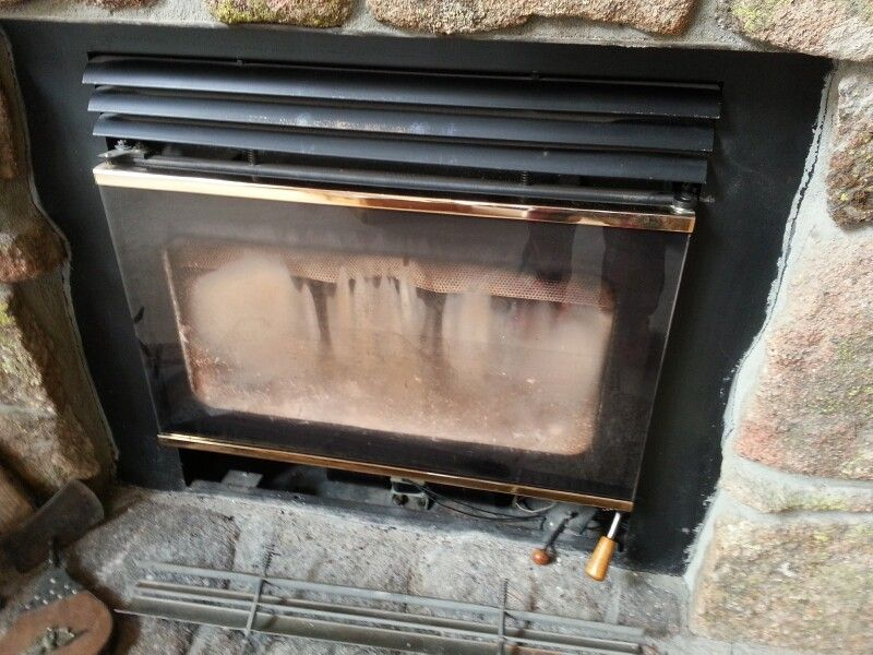 Question About Retro Fitting A Quot Built In Quot Wood Burning