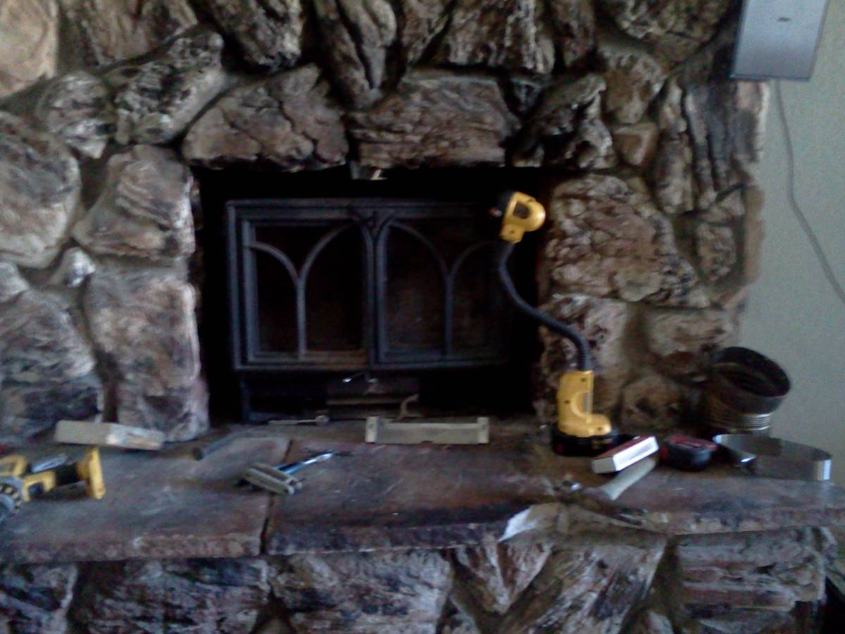 when is it ok to not insulate liner block off hearth com