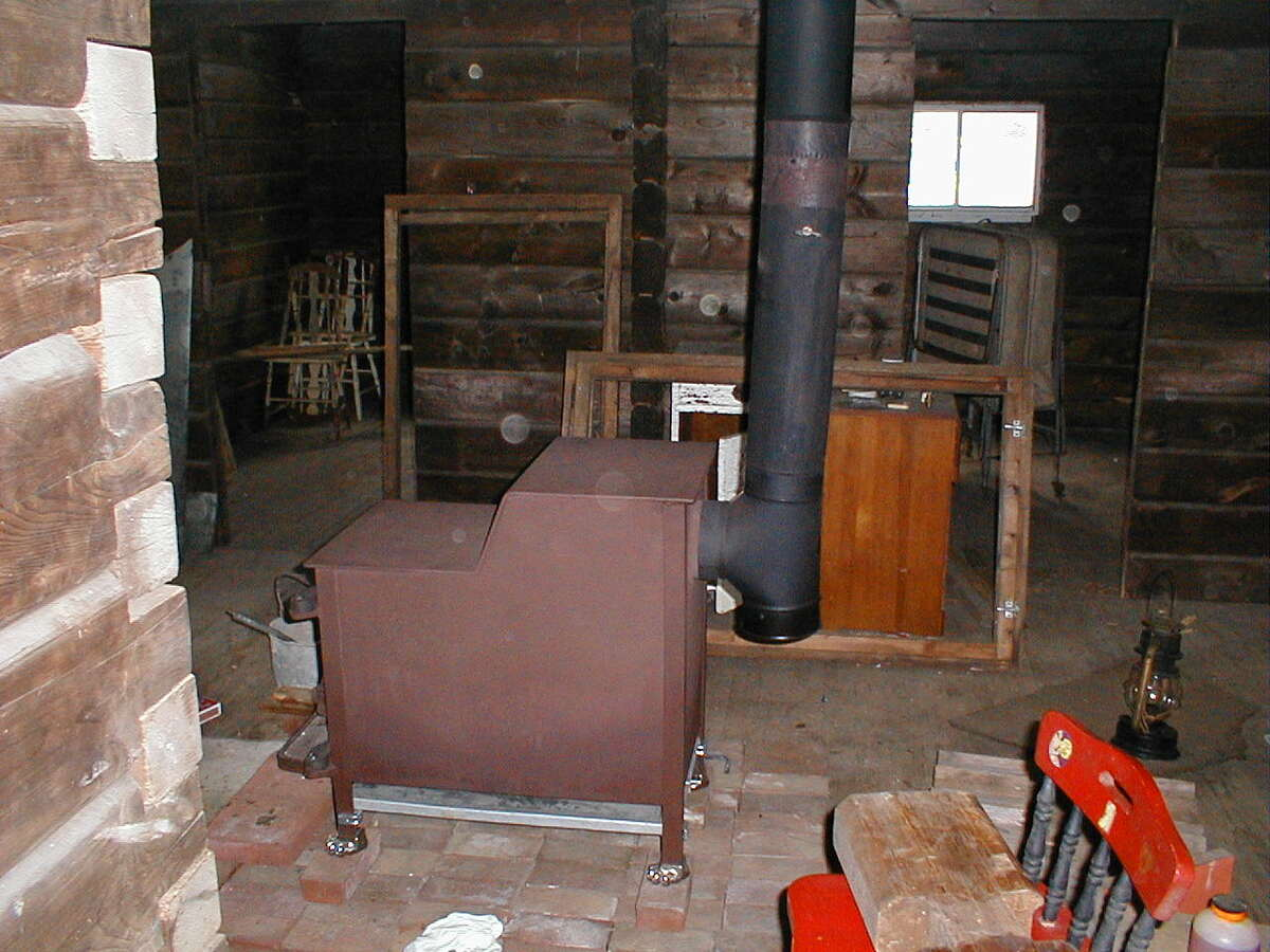 And Cap The Bottom For A Clean Out Mine Is In Middle Of Log Cabin With Open E Behind Stove Try To Maintain At Least 250 All Way Up