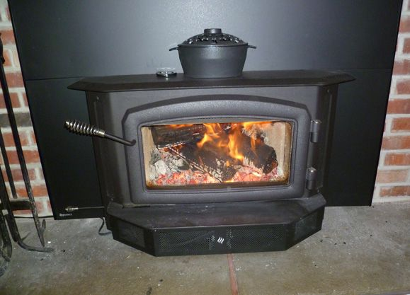 Showin off new Regency i2400 wood insert  Hearth.com Forums Home