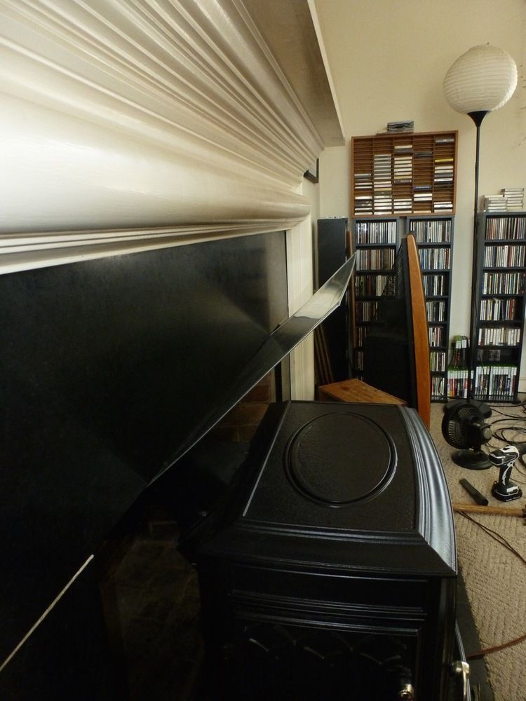 removable mantle shield project done hearth com forums home