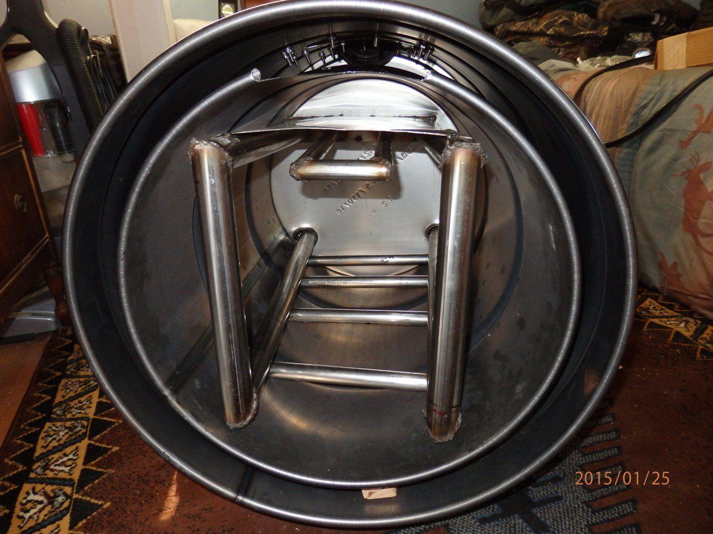 30 gal barrel stove kit images