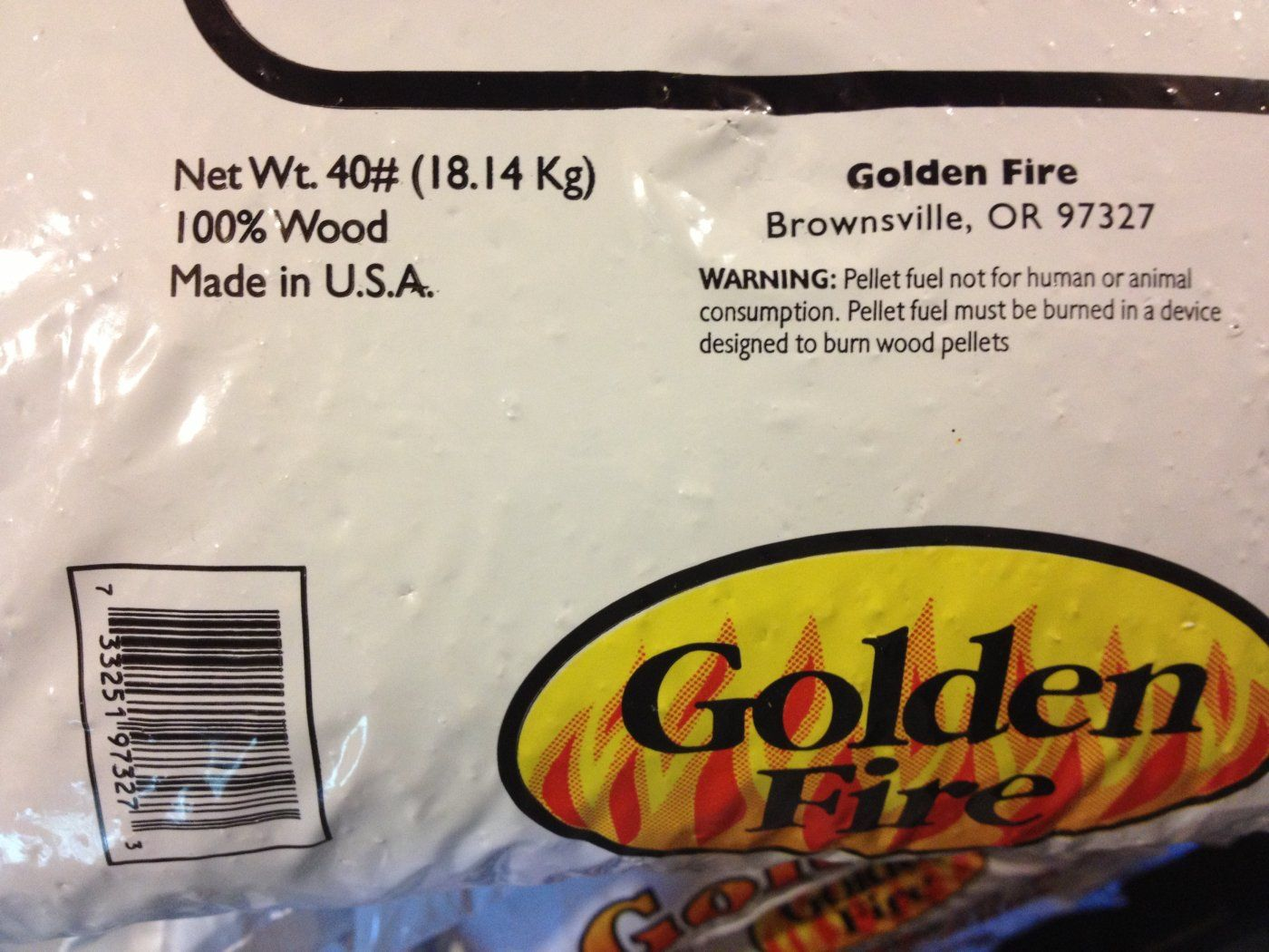 Need some help getting UPC codes of the pellet bags. | Hearth.com ...