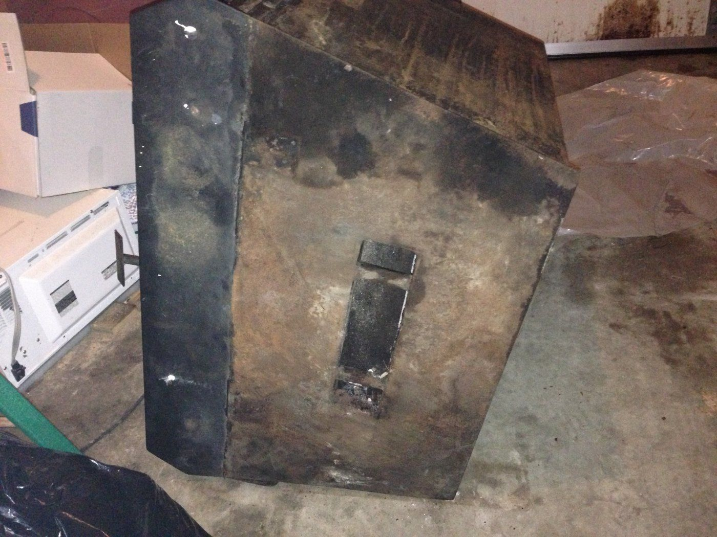 Buck stove in prefab questions forums home for Wood stove insert for prefab fireplace