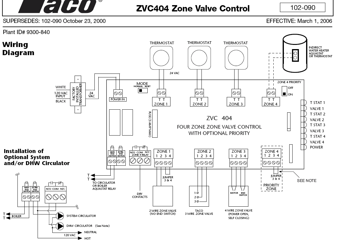 circulating pump wiring hearth com forums home taco 007 circulator pump wiring diagram at n-0.co