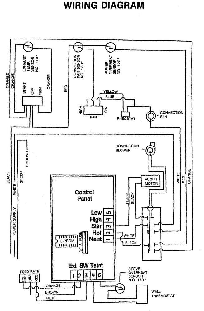 hardy wood stove wiring diagram wood stove thermostat