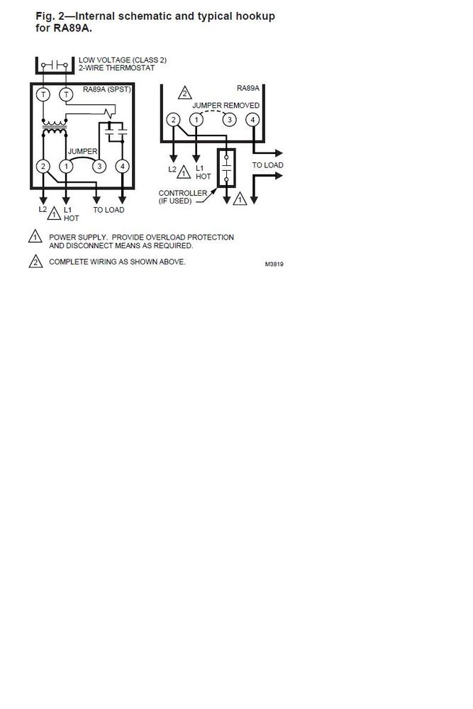need an electricians help in wiring relay please hearth com honeywell ra89a wiring diagram at crackthecode.co