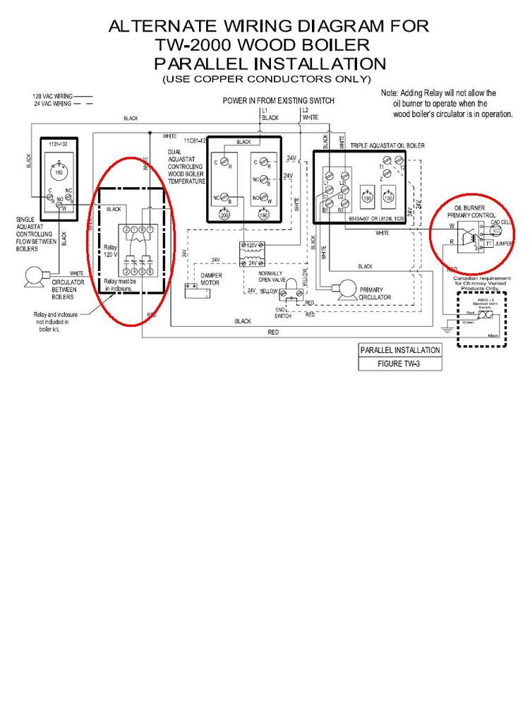 need an electricians help in wiring relay please hearth com honeywell ra89a wiring diagram at panicattacktreatment.co