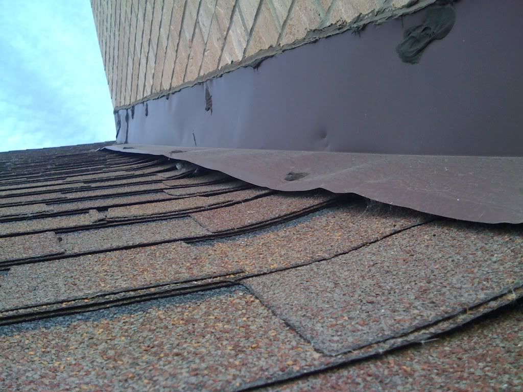 is this chimney cap installed correctly hearth forums home - How To Install Roof Flashing