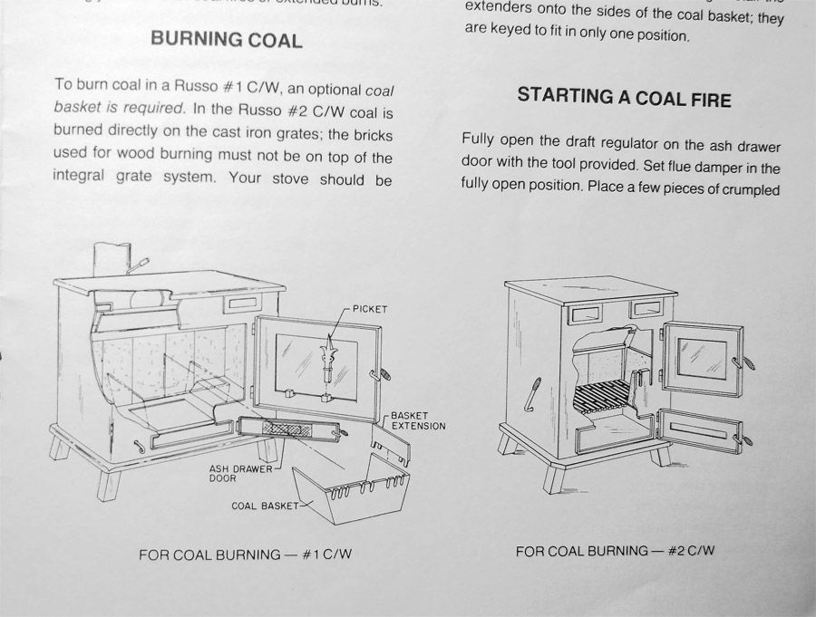 Burning Coal In A Wood Stove WB Designs - Burning Coal In A Wood Stove WB Designs