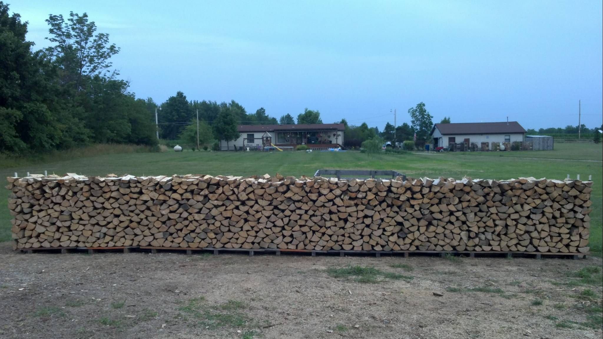 plans or tips for outdoor firewood rack | Hearth.com Forums Home
