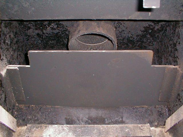 ... Smoke Shelf Baffle 1984 Goldilocks.JPG - Baffle Question On A Grandpa Bear Hearth.com Forums Home