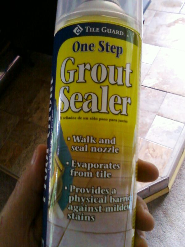 Lowes Tile Guard One Step Spray Sealer For Grout Is It Safe