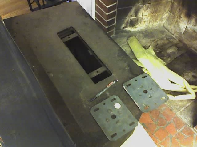 1981 Squire fireplace insert (#50500) missing flue collar... any ...