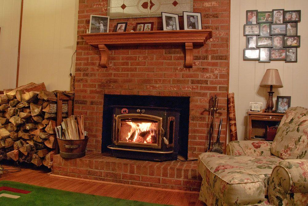 Wood natural gas or stove