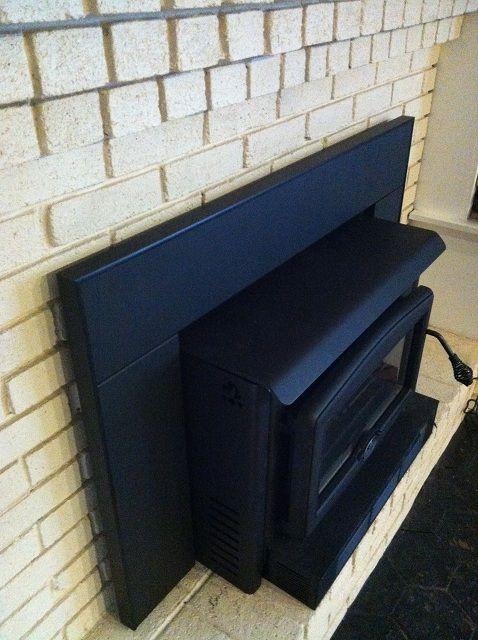 Insulation Around A Fireplace Insert, Fireplace Insert Insulation